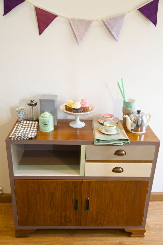 Chest of Drawers Sideboard Bar Cabinet Dresser by BarcelonaDecoLab