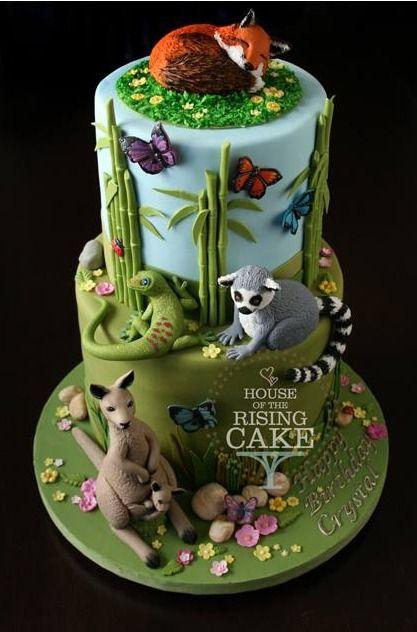 Animal cake: Yes I'm