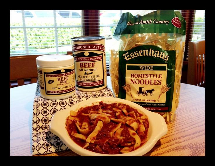 Essenhaus Foods Recipes