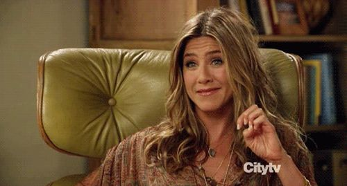 Jennifer Aniston on her divorce from Brad Pitt.