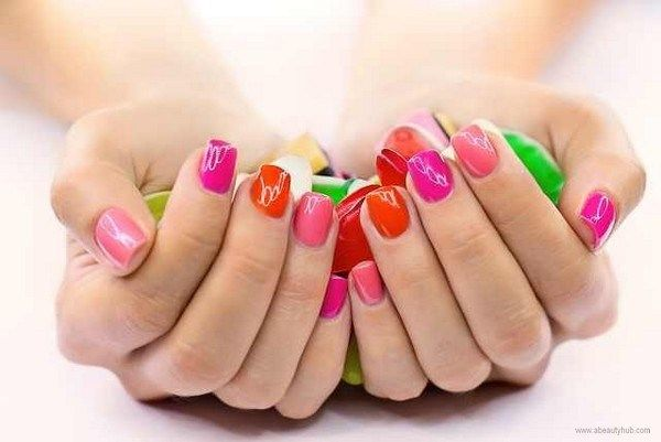 How to remove shellac nails