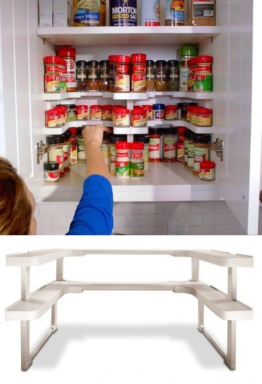Spice Rack And Organizer.no More Hidden Spices!