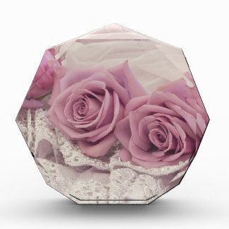 Pink Roses And Lace Still Life Gift Award