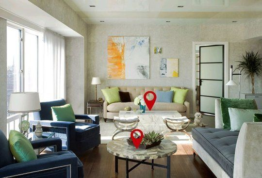 Living Room Geometry: The Basics of a Well-Balanced Room