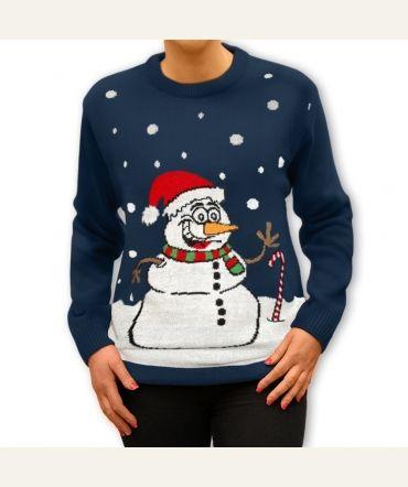 Na zimę tylko #bałwan, a żeby nie marznąć to na #ciepłym #swetrze. Idealny #prezent pod choinkę. http://swetryswiateczne.pl/pl/