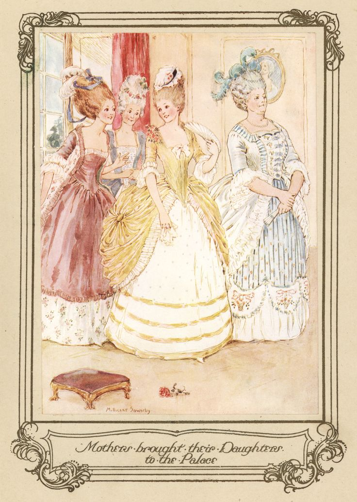 Mothers brought their Daughters to the Palace by Millicent Sowerby