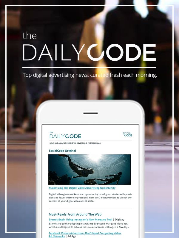 8 best daily code images on pinterest social media marketing want the latest digital ad news curated by advertising experts and delivered to you daily meet the daily code want the latest digital ad news fandeluxe Image collections
