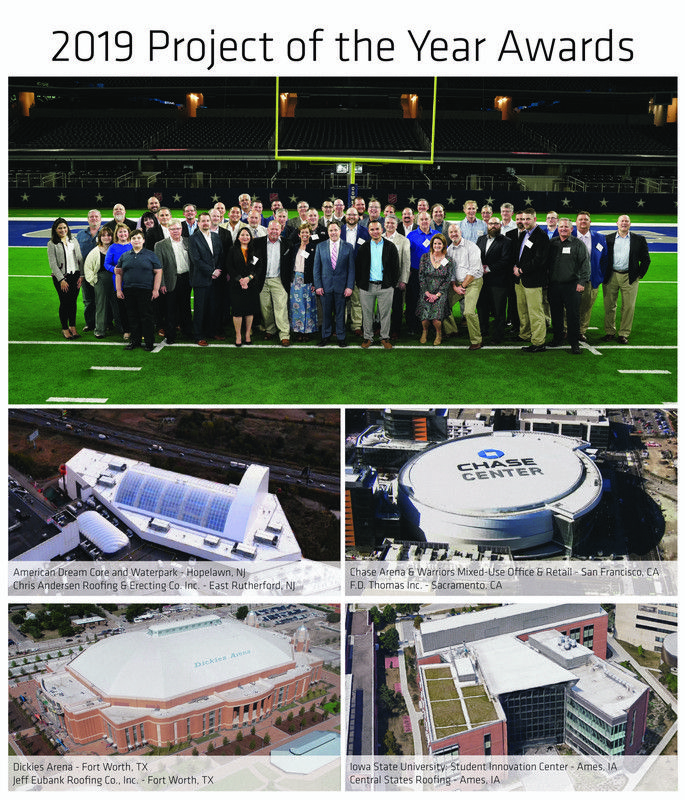 Top 15 Commercial Roofing Projects Of 2019 Announced In 2020 Commercial Roofing Green Roof Garden Roofing