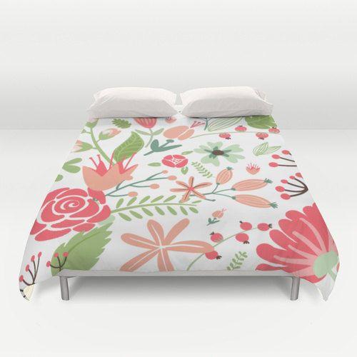 1000 id es sur le th me couette floral sur pinterest lits couettes et ensembles de douillette. Black Bedroom Furniture Sets. Home Design Ideas