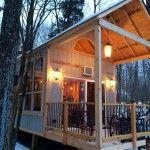Single Mom Builds Off-Grid Lakeside Cabin Near Columbus, Ohio