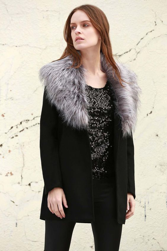 17 Best ideas about Fur Collar Coat on Pinterest | Winter coats ...