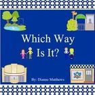 Which Way Is It? is a fun visual worksheet set to learn cardinal, ordinal, and relative directions. Learning directions is a much needed life skill...