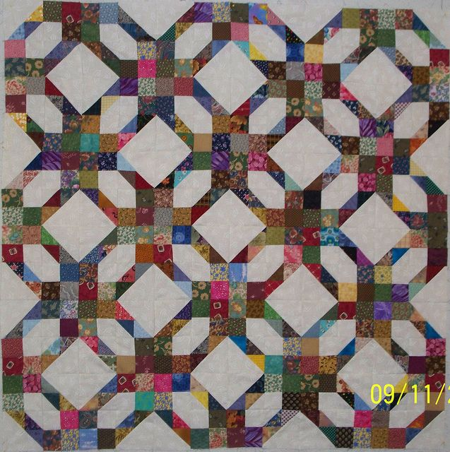 """magic maze quilt top 