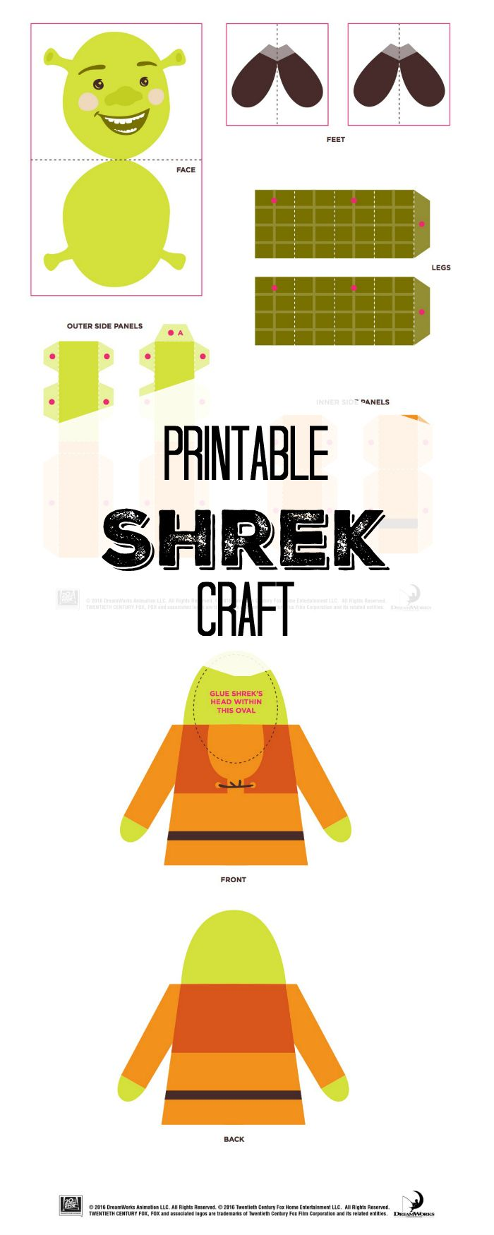 65 Best Images About Boost Your Bathroom On Pinterest: 15 Coloriage Petit Biscuit Shrek
