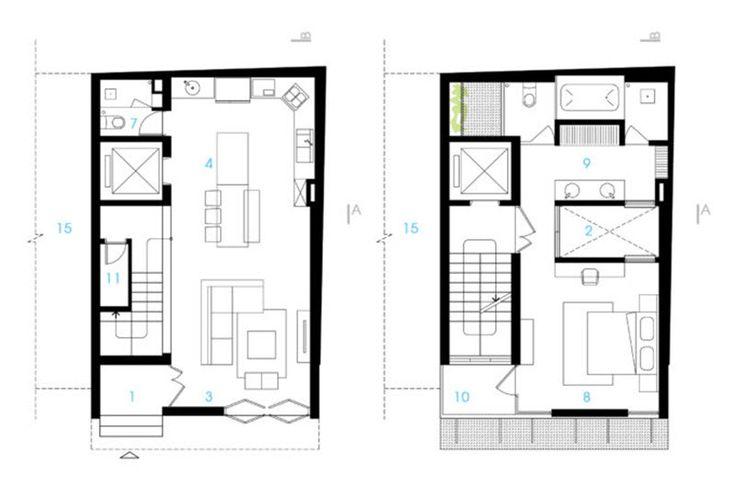 Idea de planos casa pequeña