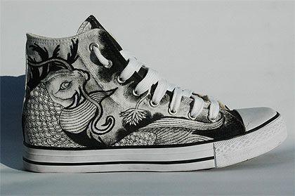 converse design custom 52 Best 80 design de Converse customisés