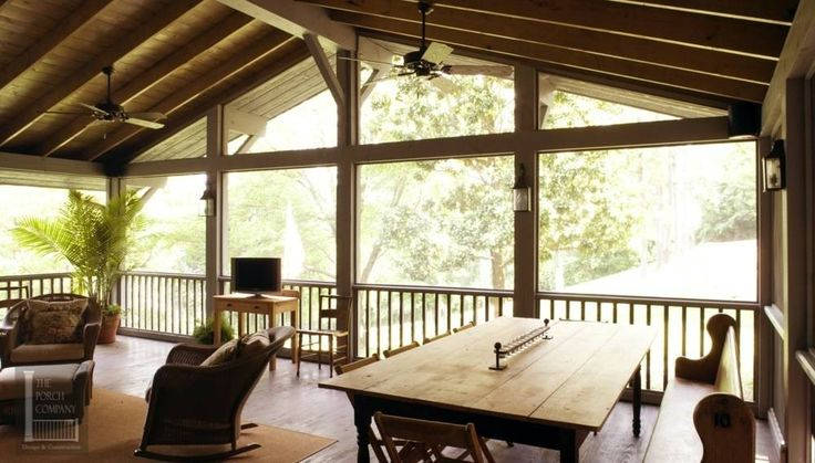 1000 ideas about screened patio on pinterest security for Cypress porch columns