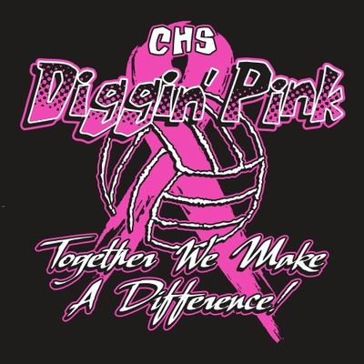 Two Color Fight Against Digginu0027 Pink Fight Against Cancer Tee Shirt Design  With Cancer Ribbon And Volleyball.
