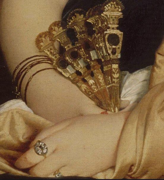 Jean-Auguste-Dominique Ingres, Portrait of Madame Duvaucey 1807
