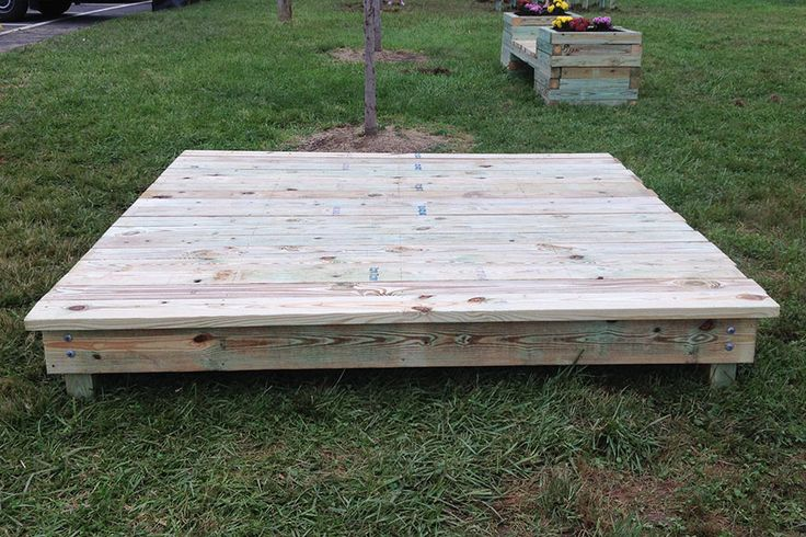 How to Build an 8' x 8' Stage: Add a stage to enhance your play area and give kids a space to get creative!