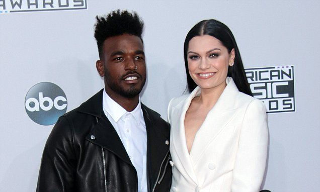 Jessie J 'splits with Luke James as he was using her to raise profile'