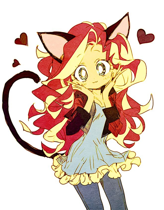 Still don't like equestria girls but cute