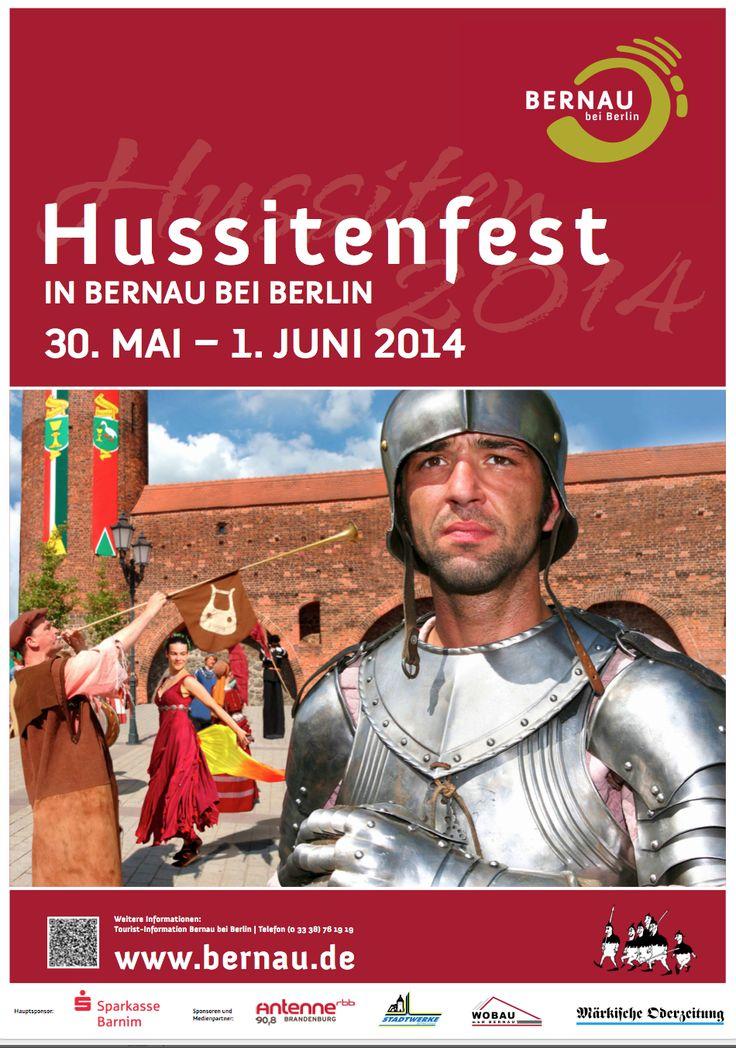 Bernau: Plakate und Flyer zum Hussitenfest sind da - Bernau LIVE