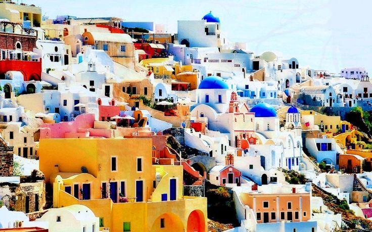 #Santorini has a great #architecture! Enjoy the colors!