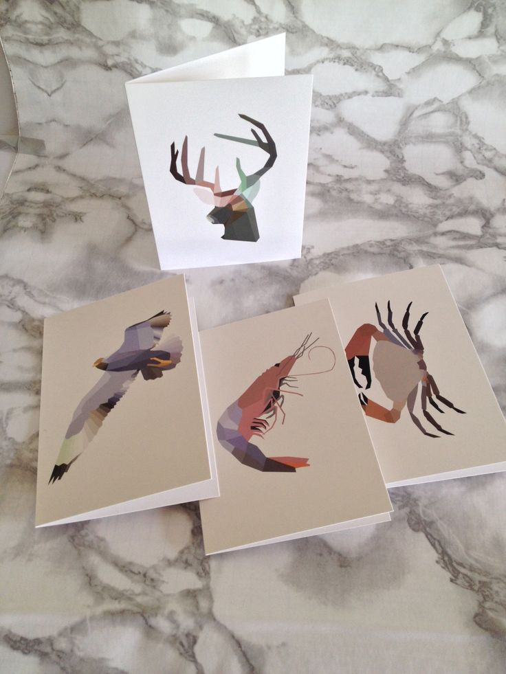 Mr Fox & Friends Card Collection by Danish artist and designer Ditte Maigaard who also runs the Ditte Maigaard Studio, Store & Online Shop.