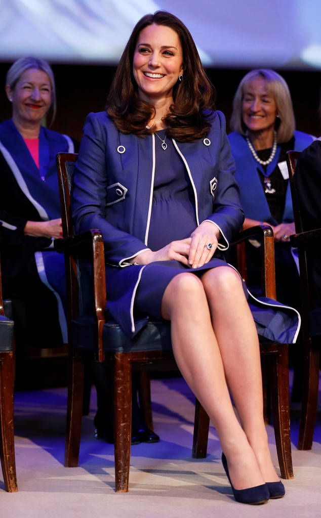 Duchess of Cambridge spotted a familiar face during her official appearance on Tuesday in honor of her newest patronage