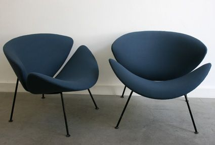 fauteuils vintage orange slice pierre paulin artifort beautiful chairs pinterest vintage. Black Bedroom Furniture Sets. Home Design Ideas