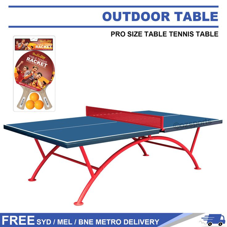 crown pro size outdoor table tennis ping pong table free syd mel bne post slate pool - Slate Pool Table