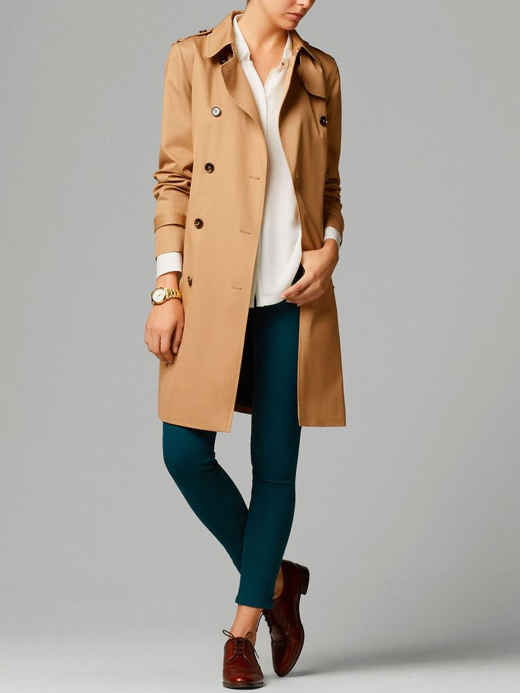 LONG RAINCOAT, Massimo Dutti, $250, this might be it.