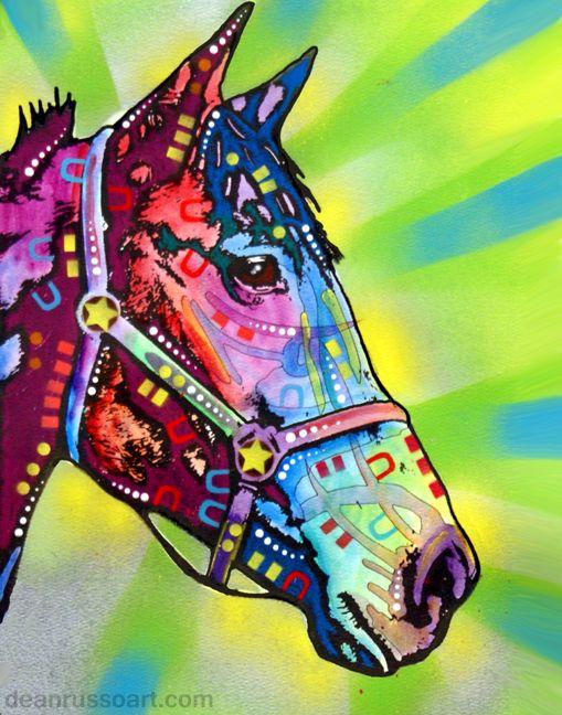 dean russo art u2014 horse print - Dean Russo