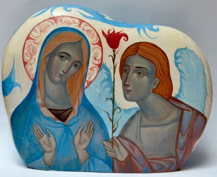Annunciation - contemporary from Ukraine