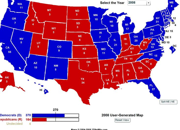 The Electoral College and Voting Electoral college system and