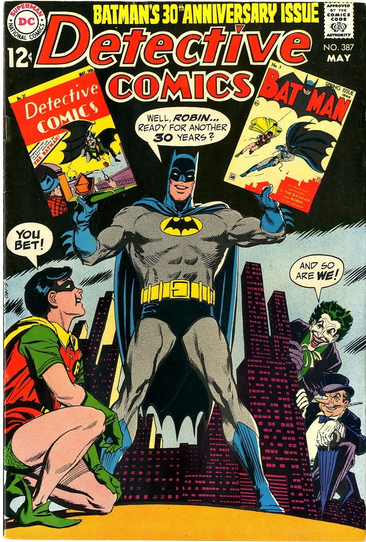 Detective Comics 30th Anniversary