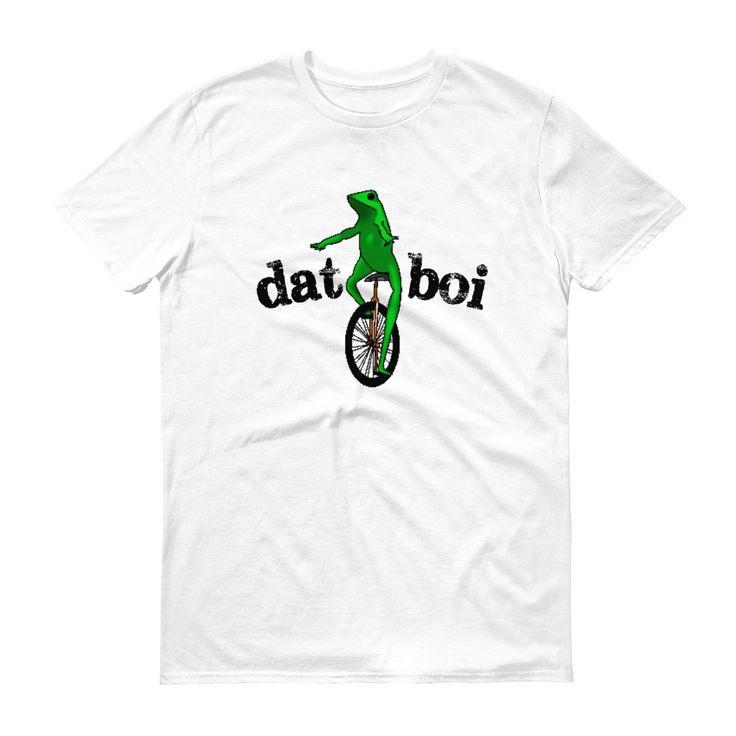 Men's Dat Boi Unicycle Frog T-Shirt