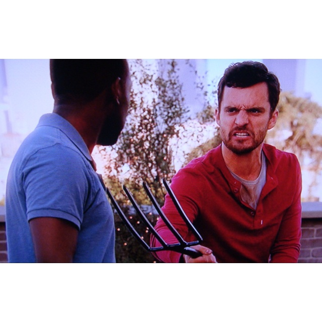 Get of my farm! GIT!!! I love New Girl.New Girl