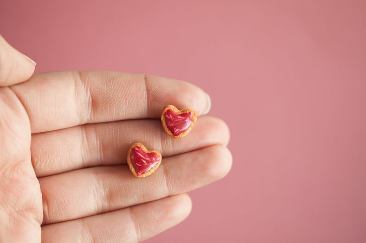 Ilianne | Jewelry Made of Love - XMAS Heart Cookie Studs