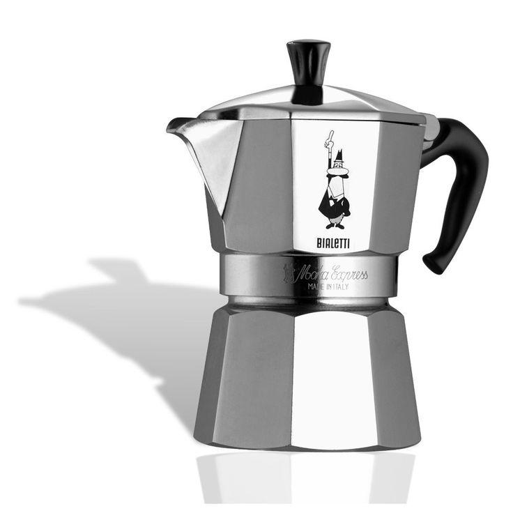 Bialetti Espressokande- Moka Ekspress 3 kopper