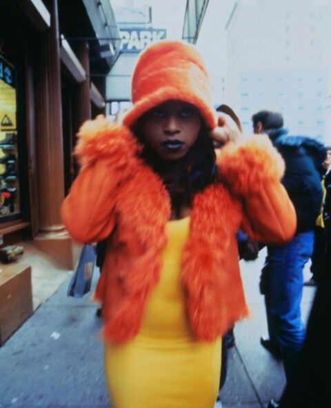 Rapper Foxy Brown