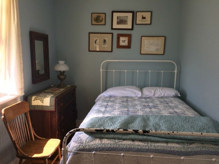 Stay in a simple yet lovely guestroom during a family adventure at the Rose Island Lighthouse in Newport, Rhode Island.
