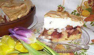W Mojej Kuchni Lubię.. : pyszne ciasto mocno owocowe z pianką bezową...