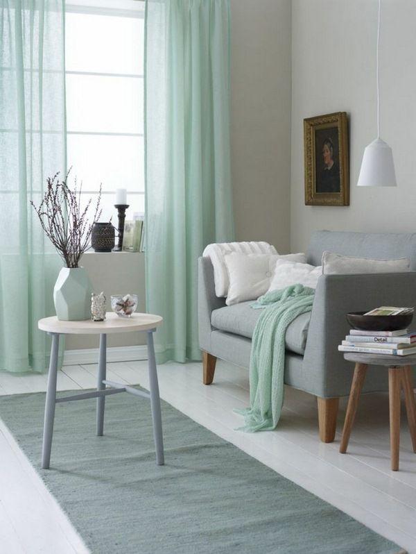 Des idées de design d'intérieur et les tendances de couleurs des idées de décoration vivant