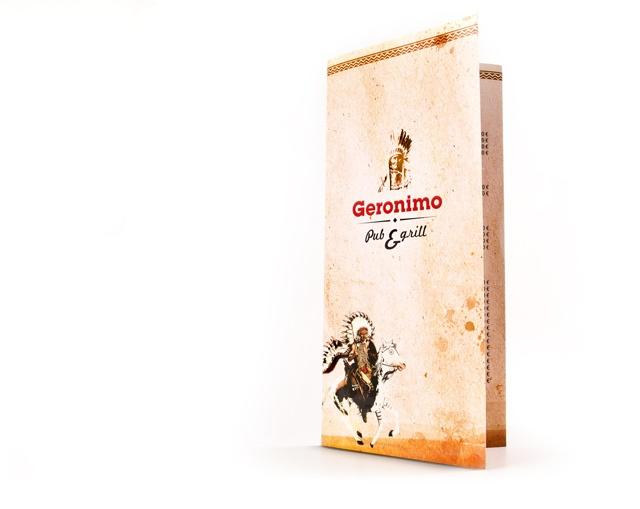 Geronimo // jedálny lístok