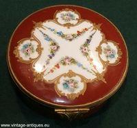 19th century Sèvres jewelery box