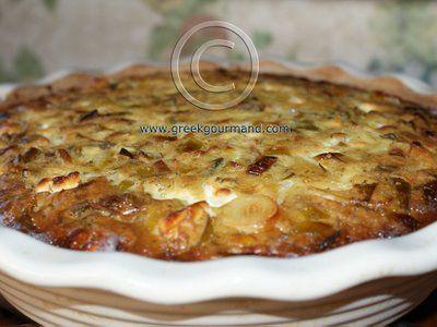 Prassopita...Greek Leek Pie