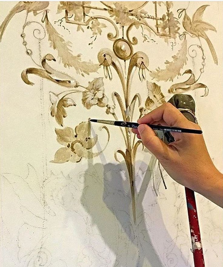 Best 20 grisaille ideas on pinterest neutral holiday for Ceiling mural painting techniques
