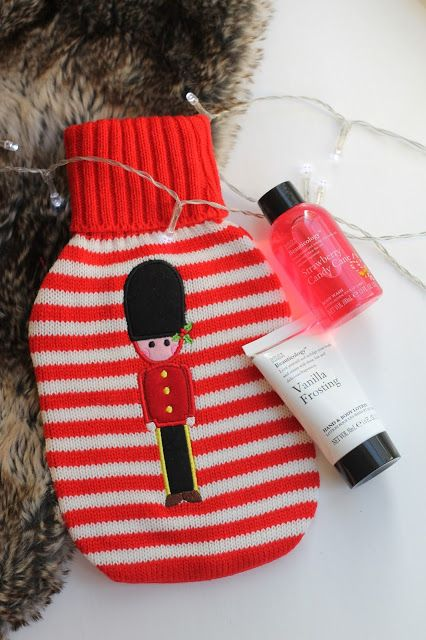 Baylis & Harding Christmas Beauticology Soldier Hot Water Bottle Set